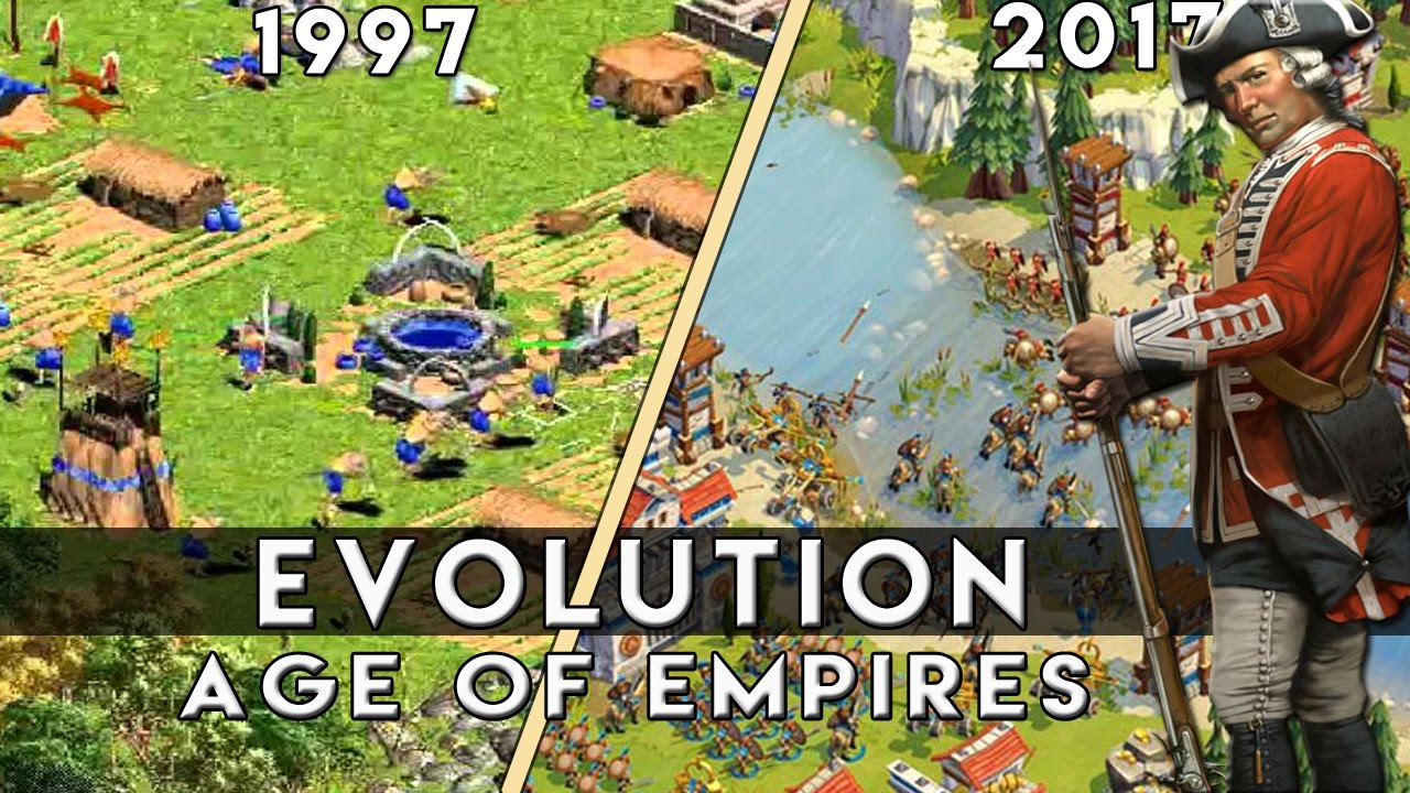 The Evolution Of Age Of Empires | 1997-2017 |