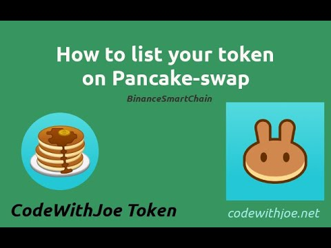 How to List Your Token on Pancakeswap