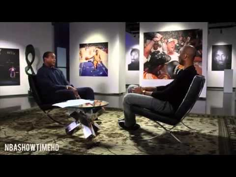 Kobe Bryant: The Interview. Emotional