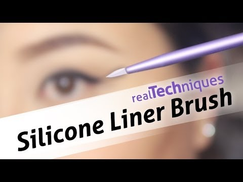 real techniques silicone liner brush