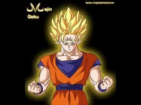 Majin Vegeta, Goku, Piccolo and Broly - YouTube