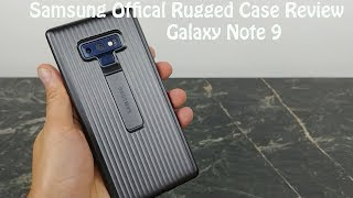 Samsung Official Rugged Case Review with Kickstand for the Galaxy Note 9