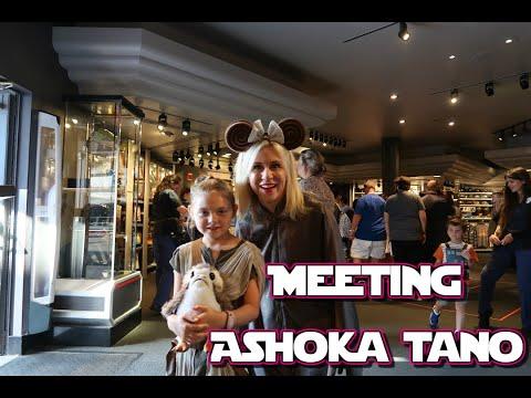 Meeting Ashley Eckstein For Triple Force Friday | Disney's Hollywood Studios