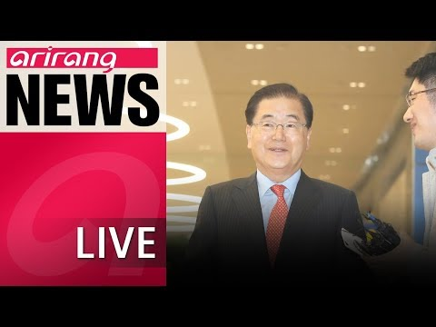 [LIVE/NEWSCENTER] S. Korean, U.S. nat'l security advisers agree to coordinate on N. Korea summits