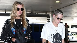 Kristen Stewart And Stella Maxwell Asked About Wedding Plans