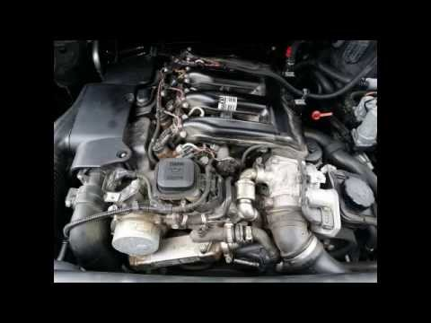 BMW EGR Valve clean - YouTube
