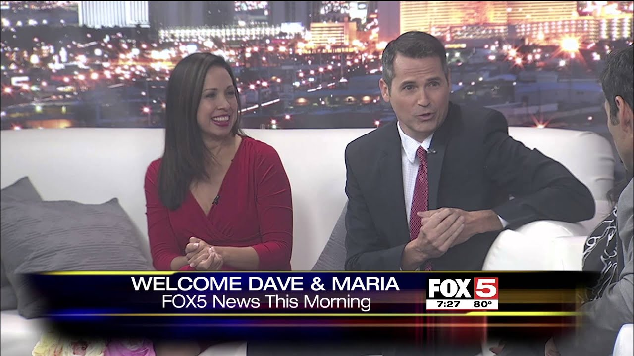 Dave Hall & Maria Silva Come Home to FOX5 News This Morning