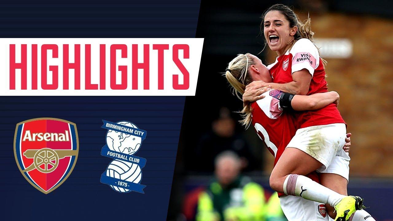 sports shoes 3415d c5684 GOALS & HIGHLIGHTS | Arsenal Women 3 - 1 Birmingham City