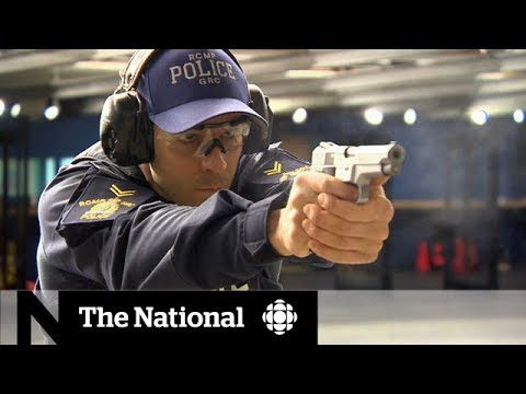 The RCMP's special class on de-escalating situations