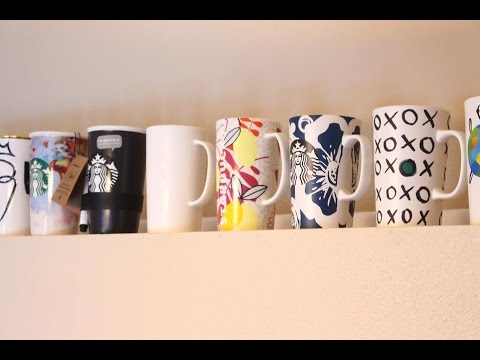 My Starbucks Cup Collection | 2017