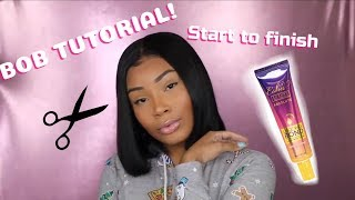 AALIYAH JAY APPROVED: ESHA ABSOLUTE LACE BOND | LACE WIG HAIR TUTORIAL