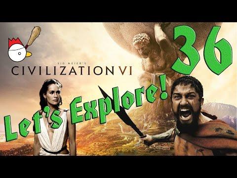 CIVILIZATION VI [ITA] Let's Explore 36# - QUESTA È SPARTAAAAA!