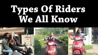 Types Of Riders | WHAT THE FUKREY | WTF