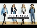 How to Style Denim + LOOK BOOK