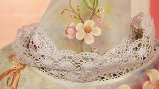 Pintar sobre tela - Pintar Flores - Ana Maria Paravic