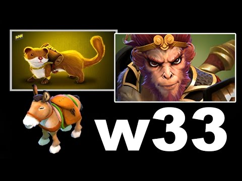 W33 AMAZING COURIER SNIPES! - MK DOTA 2