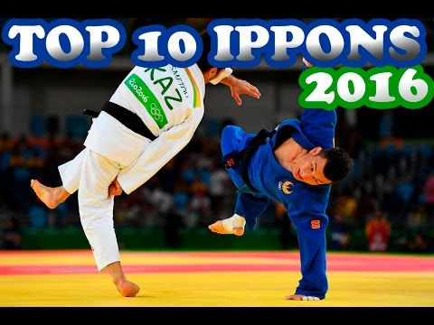 TOP 10 IPPONS 2016|THIS JUDO 2016|HIGHLIGHTS