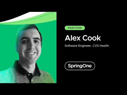 Alex Cook at SpringOne 2021