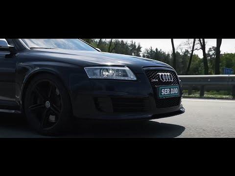 Audi RS6 V10 Biturbo - 600 HP // Черная Жемчужина