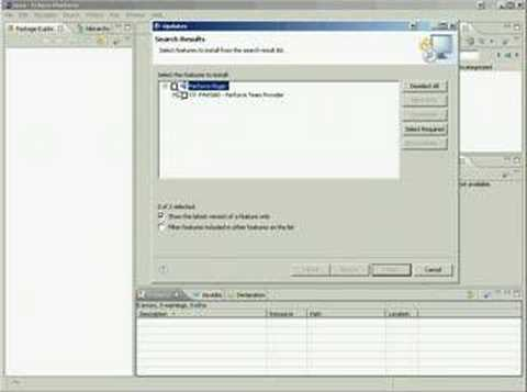 Install Perforce Plugin to Eclipse