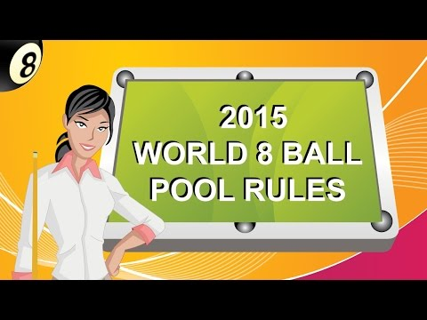 international 8 ball pool rules
