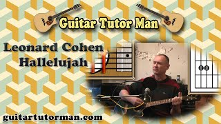 Hallelujah - Leonard Cohen / Jeff Buckley - Guitar Lesson(A guitar lesson of my interpretation of Hallelujah influenced by Leonard Coen & Jeff Buckley etc. You can access a tab with an alternate open chord for the F11 ..., 2011-01-06T17:30:58.000Z)