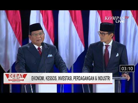 Visi Misi Prabowo-Sandi: Memberikan Lapangan Kerja dan Harga Bahan Pokok Terjangkau