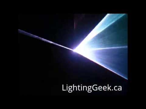 Cheap RGB Laser Stage Lighting Scanner Laser B2000+ LightingGeek