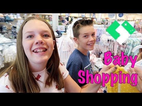 Shopping For A Baby! | Clintus.tv