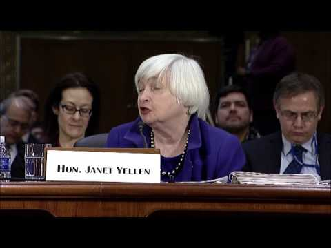 Senator Donnelly questions Federal Reserve Chair Janet Yellen