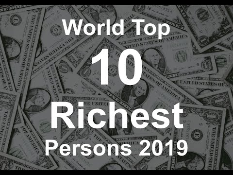 """2019 End Richest Person in World"""