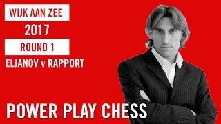 Tata Steel Chess Tournament 2017 Round 1 Eljanov v Rapport