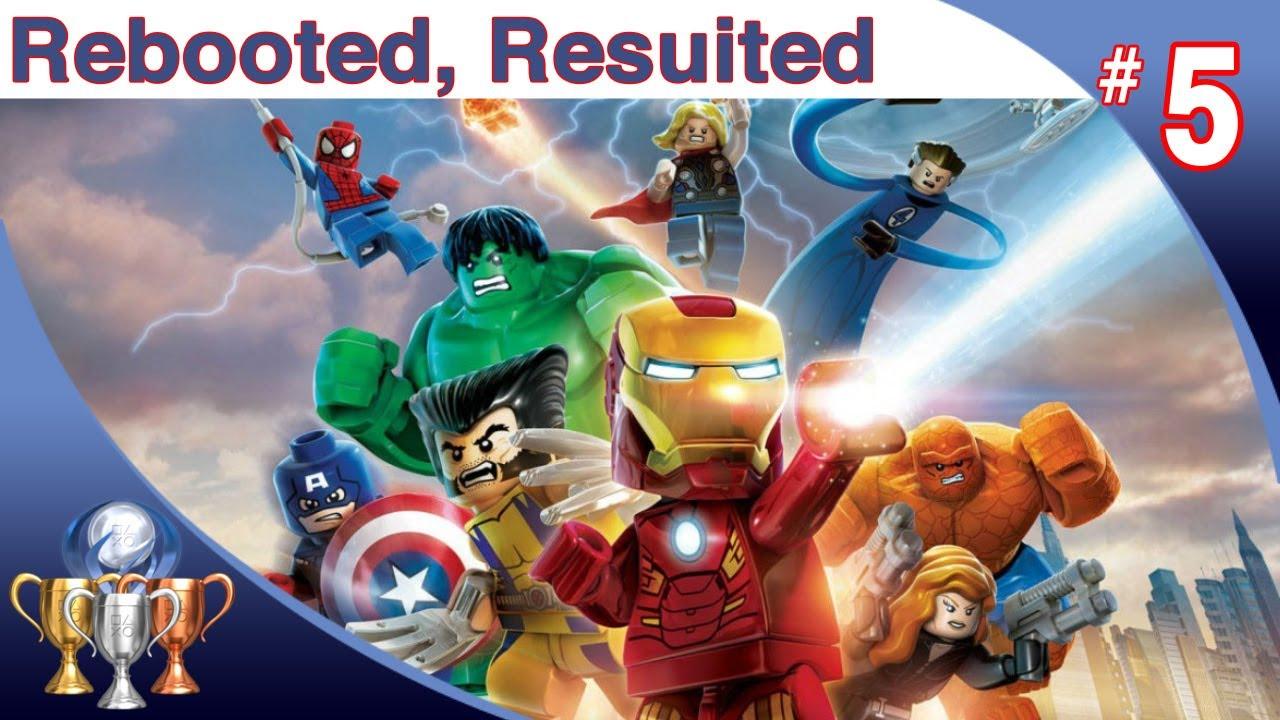 marvel lego superheroes level 5
