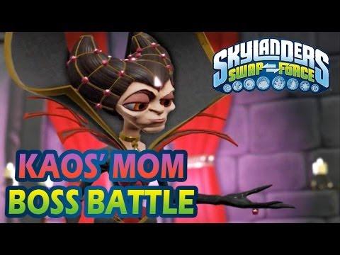 Skylanders Kaos Boss Fight And Ending | How To Make & Do ...