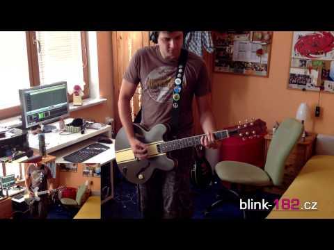 Blink 182-Asthenia (guitar cover)