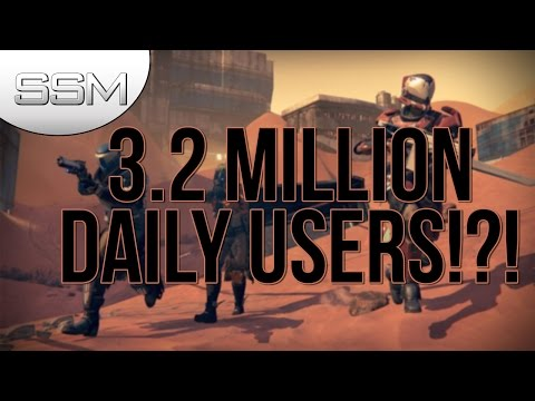 Destiny Has 3.2 Million Users Daily
