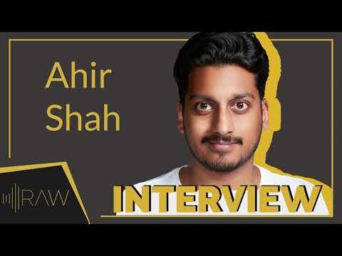 Ahir Shah Interview