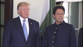 Trump welcomes Pakistani Prime Minister Imran Khan at White House | 4K Ultra HD