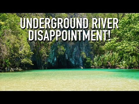 UNDERGROUND RIVER DISAPPOINTMENT! | Puerto Princesa, Philippines