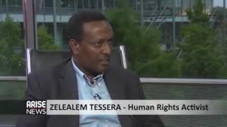 #Amhara#Zelealem Tessema speaking to Arise News on the Kilinto fire!