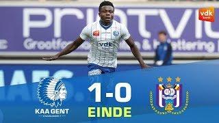 🎬 KAA Gent - Anderlecht (1-0)