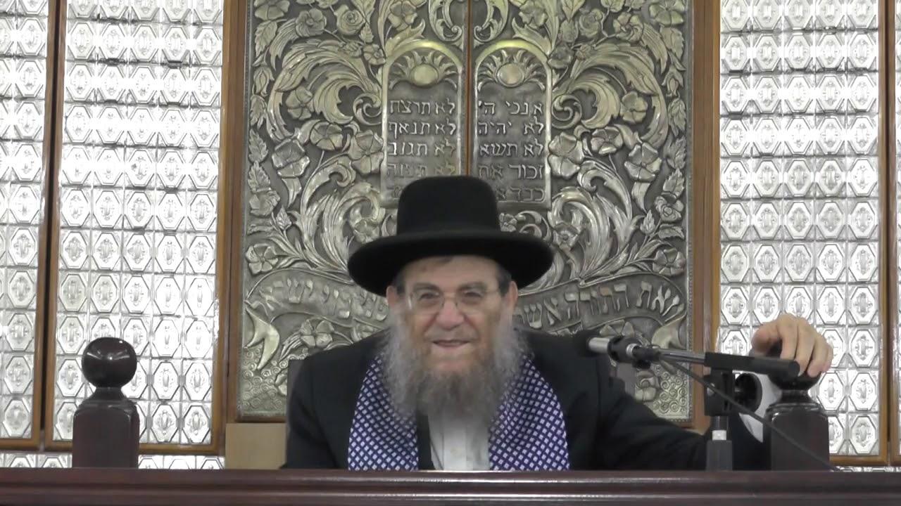 הרב יצחק ברדא - פרשת ראה - קדושת עם ישראל!