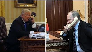 Trump, Putin have 'great call' that lasts 1.5 hrs