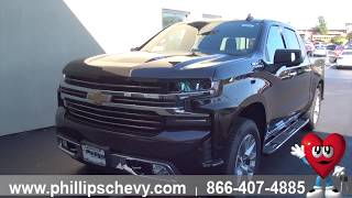 Phillips Chevrolet  - 2019 Chevy Silverado High Country - Exterior Features