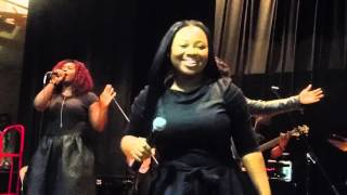 "Jekalyn Carr Singing ""Greater Is Coming"""