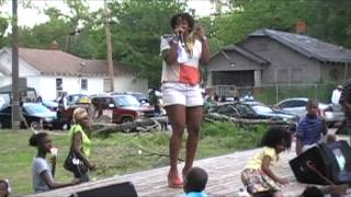 Ms.KENYA   /  KUSH HEAD CHRIS  @ {  Nettleton Park  Block Party  2012 EASTER SUNDAY } 3rd Ward  TX