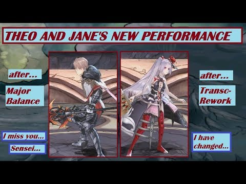 King's Raid - Theo and Jane Review after Major Balance and Transcendence Reworks Review