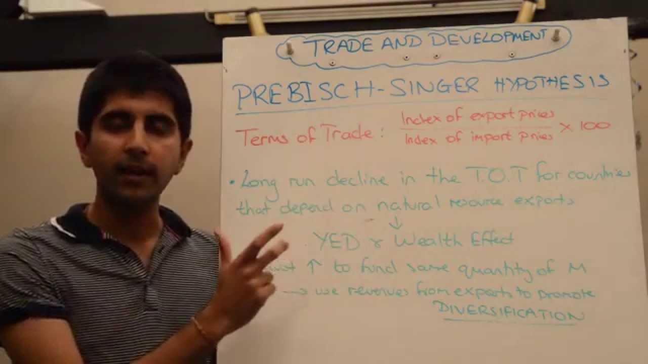 prebisch singer thesis hypothesis