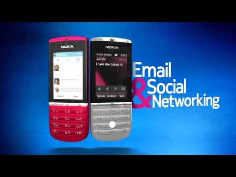 Nokia Asha 300 Fast and affordable touch 3G mobile phone
