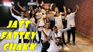 Jatt Fattey Chakk Amrit Maan Desi Crew Bhangra THE DANCE MAFIA